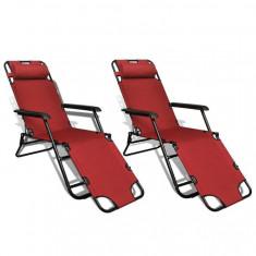 Set 2 șezlonguri reglabile pliabile - Set Role Curea Distributie