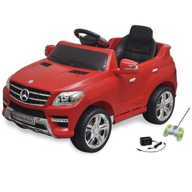 Ma?ina electrica Mercedes Benz ML350 cu telecomanda, ro?u foto mare