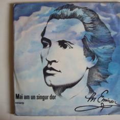 Disc vinil MIHAI EMINESCU - Mai am un singur dor - romante(ST - EPE 03469/03470) - Muzica soundtrack electrecord