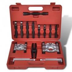 Set extractor rulmenți, 14 piese - Scule ajutatoare Service