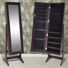 Cabinet maro pentru bijuterii cu suport și oglindă - Echipament cabinet stomatologic