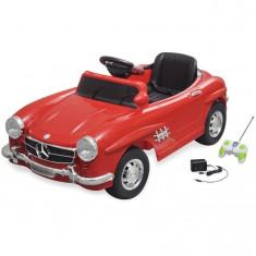 Mașină electrică copii Mercedes Benz 300SL 6V cu telecomandă, roșu - Pipe bujii Moto