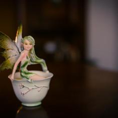 Statuetă Zâna ceaiului verde