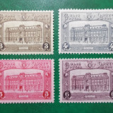 Belgia 1929 90 Euro cladiri posta din Bruxelles - serie nestampilata MH