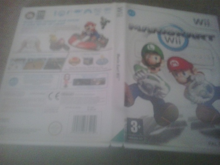 Mario Kart - Nintendo  Wii [A] foto mare