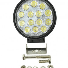 Proiector LED Auto FLOOD 60° 42W 12/24V AL-040517-5, Universal