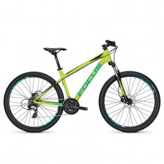 Bicicleta Focus Whistler Elite 27 24G limegreen 2017 - 360mm (XS) - Mountain Bike