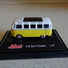 Schuco 1/87 VW Bus T1 Samba - Macheta auto