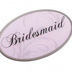 Roz Oval Bridesmaid Pin