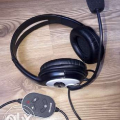 Casti cu microfon Microsoft LifeChat - Casca PC