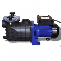 Pompă electrică pentru piscină 600 W, Albastră