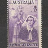 Australia. 1955 F.Nightingale-sora de Crucea Rosie KY.33 - Timbre straine, Nestampilat