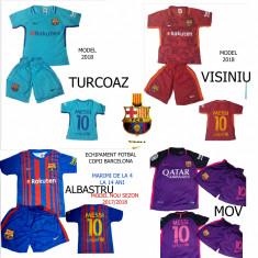 ECHIPAMENTE FOTBAL BARCELONA-MESSI, COPII 4/14 ANI, 4 MODELE NOI 2018! - Set echipament fotbal, Marime: XXL, XL, L, M, S