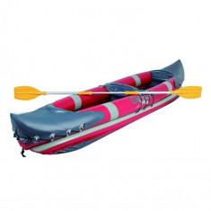 Caiac barcă gonflabilă cu padelă din aluminiu 330 x 81 cm - Caiac Canoe