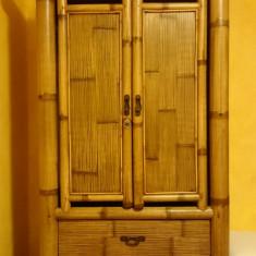 MOBILA BAMBUS - COLECTIA JIMBARAN, 3 BUCATI, MOBEXPERT - Dormitor complet