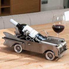 Suport Metalic pentru Sticle Automobilist - Suport sticla vin