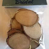 Pachet de 10 de lemn copac Cufărul Bucăți