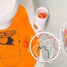 Joc de Baschet pentru WC (7 piese) - Echipament baschet