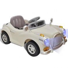 Mașină electrică pentru copii, Bej - Pipe bujii Moto