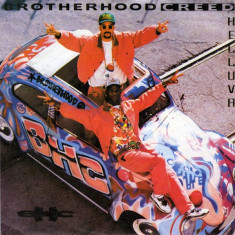 Brotherhood Creed - Helluva 1992 disc vinil Maxi Single Hip Hop - Muzica Hip Hop