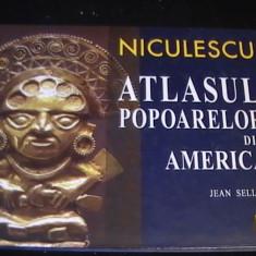 ATLASUL POPOAREL;ORDIN AMERICA-JEAN SELLIER-208 PG A 4-