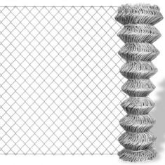 Plasă metalică pentru gard din oțel galvanizat 15 x 2 m