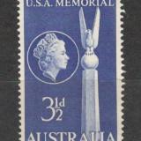 Australia. 1955 13 ani batalia din Marea Coralilor KY.31 - Timbre straine, Nestampilat