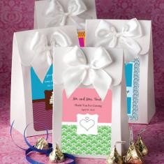 Alb Livrat cu cutii de dragoste de exprimare Colectia Personalizată