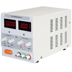 Alimentator curent laborator DC 30V 5A afișaj digital 2 LED-uri - Transformator