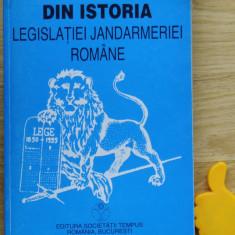 Din istoria legislatiei jandarmeriei romane Vasile Mihalache Ioan P Suciu