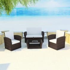 Set mobilier de exterior din poliratan Maro - accesoriu mobila