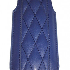 Husa TelOne Piko albastru inchis pentru telefon Nokia E51, Nokia E52, Nokia C5, Samsung S7230 Wave - Husa Telefon