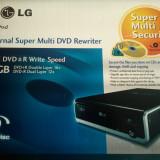 DVD extern LG super-multi rewriter nou - Unitate optica externa