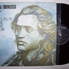 Disc vinil MIHAI EMINESCU - La trecutu-ti mare, mare viitor (versuri)(EXE 03490) - Muzica soundtrack electrecord