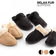 Papuci de Casă Relax Fur - Papuci barbati
