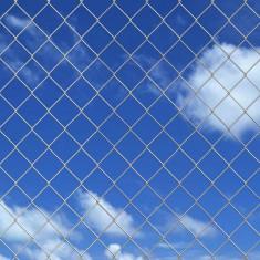Plasă metalică pentru gard din oțel galvanizat 25 x 1, 25 m