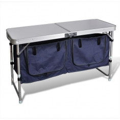 Dulap camping pliabil cu cadrul din aluminiu - Dulap baie