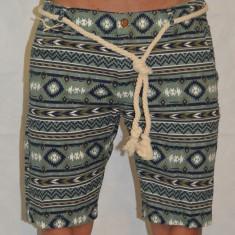 Bermude barbati Londsdale Pantaloni scurti blugi subtiri model inedit, Marime: 30, 36, 38, Culoare: Verde, Bumbac