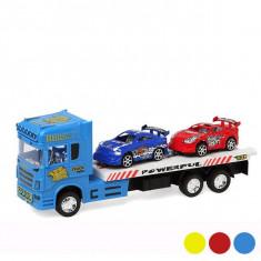 Camion de Transport cu 2 Maşini - Cartela telefonica straina