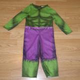 Costum carnaval serbare hulk pentru copii de 12-18 luni 1-2 ani - Costum Halloween, Marime: Masura unica, Culoare: Din imagine