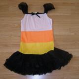 Costum carnaval serbare vrajitoare zana pentru copii de 8-9-10 ani - Costum Halloween, Marime: Masura unica, Culoare: Din imagine