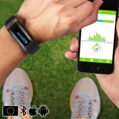 Brăţară Fitness pe Bluetooth cu monitorizare GoFit