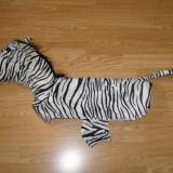 Costum carnaval serbare zebra pentru catei - Costum Halloween, Marime: Masura unica, Culoare: Din imagine