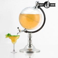 Dozator de Băuturi Ricky Drink Globe - Aparat Filtrare si Dozator Apa