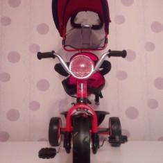 Triciclete copii cu spatar 1-5 ani - Tricicleta copii