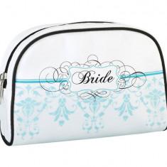 Bride Travel Bag - Aqua - Patch Panel