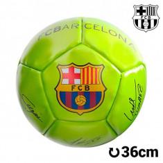 Minge de Fotbal Mini Galbenă F.C. Barcelona - Poarta Fotbal