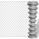 Plasă metalică pentru gard din oțel galvanizat 25 x 1, 5 m