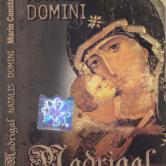 Caseta audio: Corul de camera Madrigal - Natalis Domini ( originala )