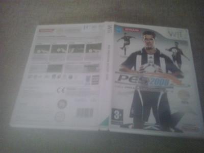 Pro Evolution Soccer PES 2008 - Nintendo Wii foto
